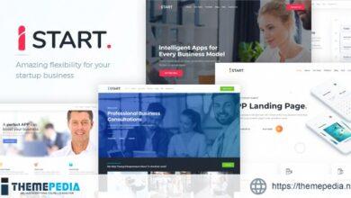 iStart – WordPress Startup Business Theme [Free download]