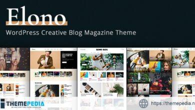 Elono – WordPress Blog Magazine Theme [Latest Version]