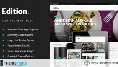 Edition – Responsive News and Magazine Theme [Updated Version]