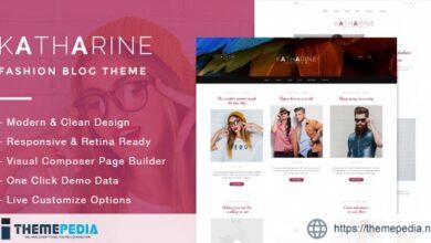 Katharine – Modern Fashion Blog Theme [nulled]