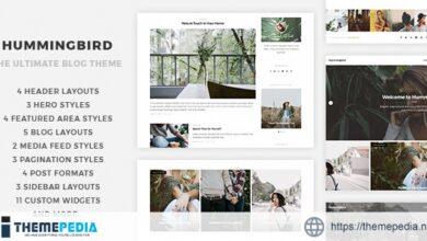 Hummingbird – The Ultimate Blog Theme [Free download]