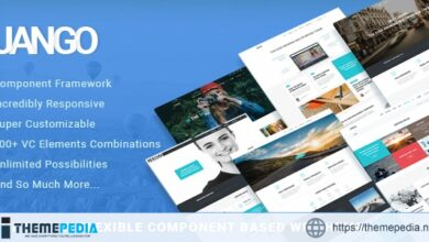 Jango – Highly Flexible Component Based WP Theme [Free download]