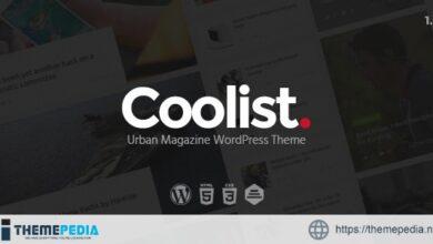Coolist – Infinite Scroll Magazine WordPress Theme [Free download]