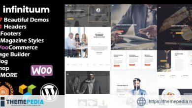 Infinituum – Responsive Multi-Purpose WordPress Theme [Free download]