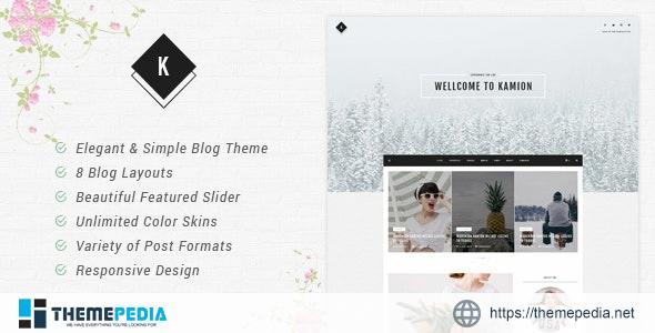 Kamion – Responsive WordPress Blog Theme [nulled]