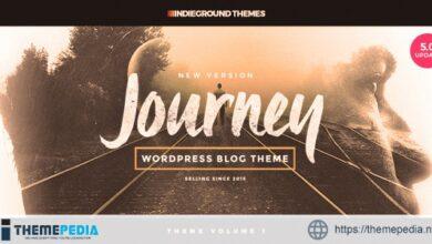 Journey – Personal WordPress Blog Theme [Free download]