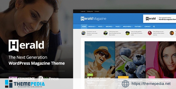 Herald – Newspaper & News Portal WordPress Theme [Latest Version]