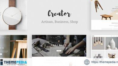 Creator – Theme for Handmade Artisans [Updated Version]