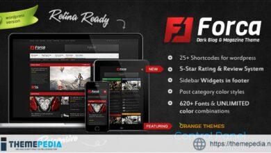 Forca – Responsive News-Magazine Theme [Free download]