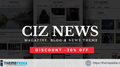 Ciz News – Magazine & Blog Theme [Free download]