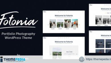 Fotonia – Portfolio Photography Theme for WordPress [Free download]