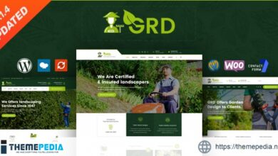 GRD – Gardening and Landscaping WordPress Theme [nulled]
