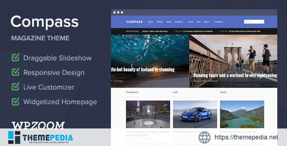 Compass – Magazine Theme for WordPress [Latest Version]