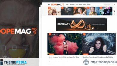 DopeMag – WordPress Blogging – Magazine Theme [nulled]