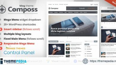 Composs – Elegant Blog, Magazine & News Theme [Free download]