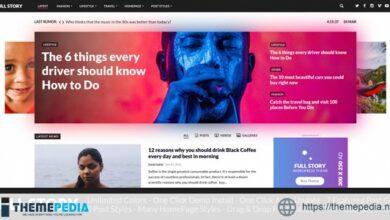 FullStory – WordPress Theme for Blog – Magazine – Newspaper [Updated Version]