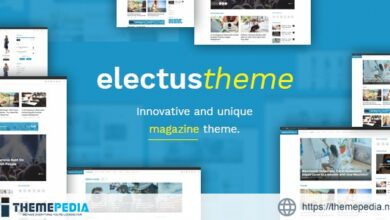 Electus – Clean Blog-Magazine WordPress Theme [Free download]