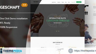 Geschaft – Business WooCommerce WordPress Theme [Free download]