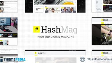 HashMag – Magazine & News Theme [Free download]