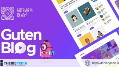 Gutenblog – Modern Blog WordPress Theme [Updated Version]
