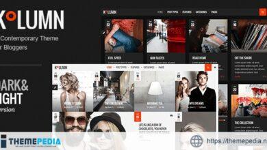 Kolumn – Blog Theme [Updated Version]