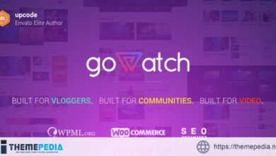 goWatch – Video Community & Sharing Theme [Free download]