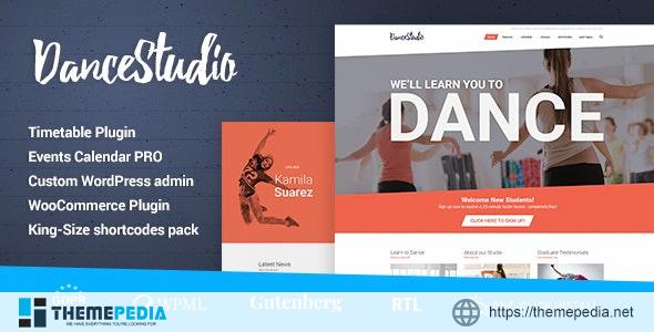Dance Studio – WordPress Theme for Dancing Schools & Clubs [Updated Version]