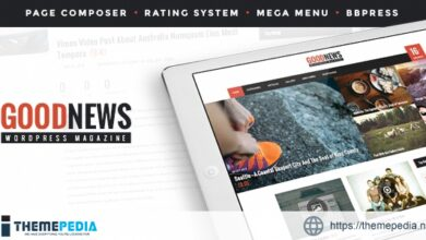 GoodNews – The News, Magazine and Blog Theme [Free download]