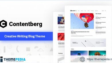 Contentberg – Content Marketing & Personal Blog [Free download]