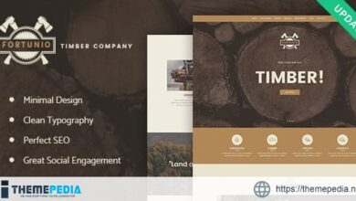 Fortunio – Timber – Forestry – Wood Manufacture WordPress Theme [Updated Version]