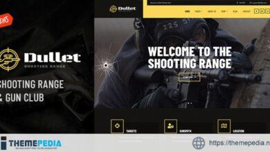 Dullet – Shooting Range & Gun Club Theme [nulled]
