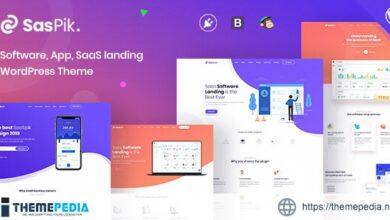 SasPik – Landing WordPress theme [Free download]