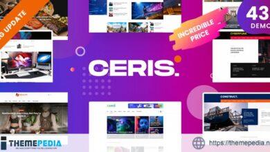 Ceris – Magazine & Blog WordPress Theme [Free download]