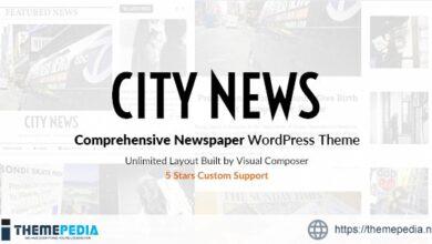 CityNews – Comprehensive Newspaper WordPress Theme [Free download]