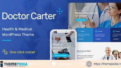 Doctor Carter – Medical WordPress Theme [nulled]