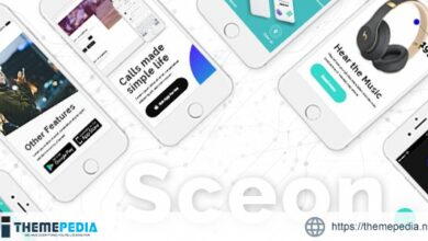Sceon – App Landing Page & Startup Theme [Free download]