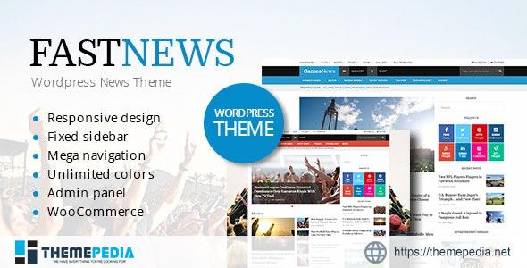 FastNews — Multipurpose Magazine Theme [Free download]
