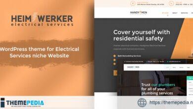 Heimwerker – Electricians WordPress Theme [Free download]
