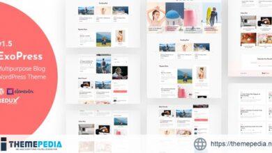 Exopress – Multipurpose Personal Blog WordPress Theme [Free download]