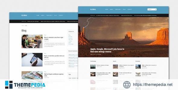 Global – Magazine WordPress Theme [Updated Version]