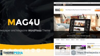 Mag4u – Responsive WordPress News, Magazine, Blog [Free download]