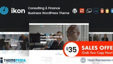 Ikon – Consulting WordPress Theme [Free download]