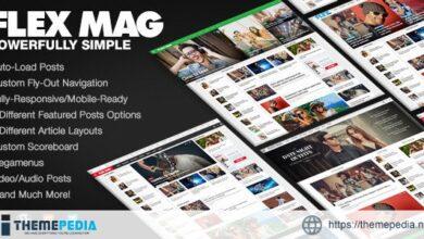Flex Mag – Responsive WordPress News Theme [Updated Version]