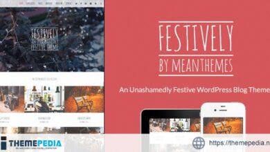 Festively- An Unashamedly Festive Blog Theme [Updated Version]