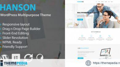 Hanson – Multipurpose WordPress Theme [Free download]