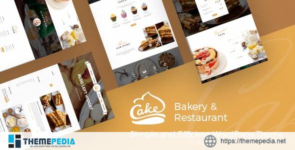 Cake – Easy Slight Bakery & Backing Theme [Free download]