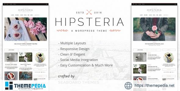 Hipsteria – A WordPress Blog Theme [Free download]