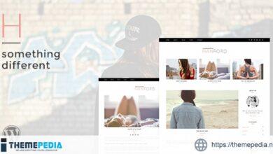 Hanford – Personal & Clean WordPress Blog Theme [Free download]