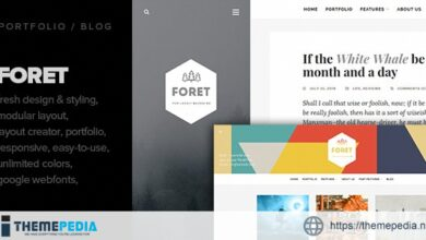 Foret – Creative theme for writers, artists and bloggers [nulled]