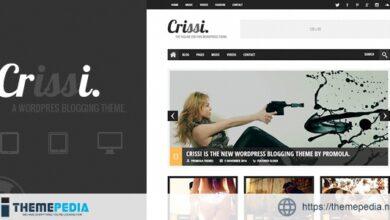 Crissi – Blogging Theme [Free download]